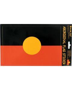 Aboriginal Flag Vinyl Sticker