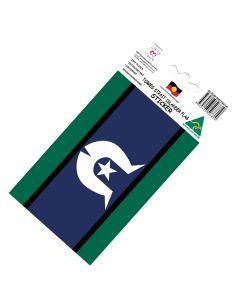 Torres Strait Islander Flag Vinyl Sticker