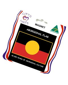 Magnet Canvas Aboriginal Flag 40,000 Years