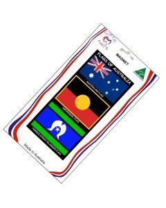 Magnet Canvas Flags Of Australia