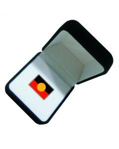 Aboriginal Flag Lapel Pin 21x14mm