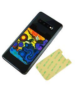 NAIDOC Lycra Sticky Phone Wallets