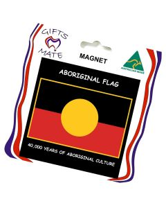 Magnet Flexible Aboriginal Flag 40,000 Years
