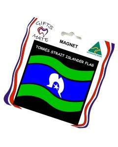 Magnet Flexible Torres Strait Islander Flag Wavy