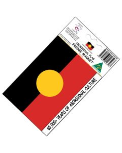 Magnet Flexible Aboriginal Flag 60,000+ Years