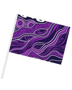 Custom NAIDOC Mini Hand Flags
