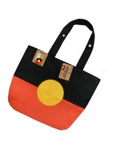 Bag Cotton Aboriginal Flag 50x38x10cm