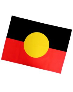 Tea Towel Cotton Aboriginal Flag 50x70cm