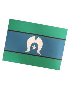 Tea Towel Cotton Torres Strait Islander Flag 50x70cm