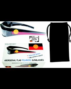 Polaroid Aboriginal Flag Sunglasses