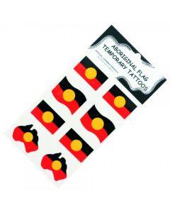 Aboriginal Flag Temporary Tattoos 80x155mm